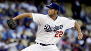 Clayton Kershaw is pitching like a man who expects to be perfect. And when he is not, he actually gets upset with himself.