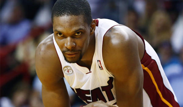 Miami's Chris Bosh may have had better weeks off the court, but he and the Heat remain The Times' No. 1 team.