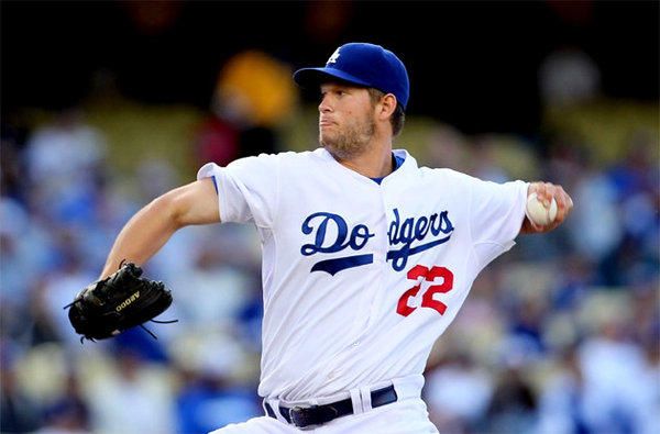 Dodgers' Clayton Kershaw pitched seven shutout innings against the Pittsburgh Pirates.
