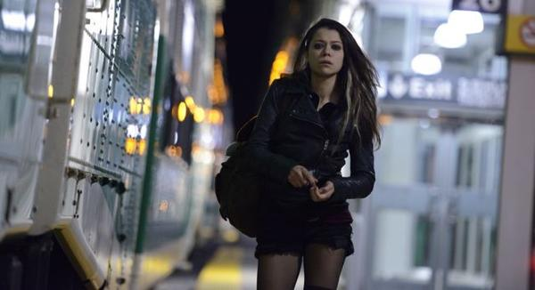 "Tatiana Maslany listened to Dizzee Rascal and other artists to find her ""Orphan Black"" character Sarah."