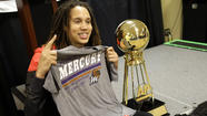 Brittney Griner, the All-American center for the Baylor women's basketball team, and an NBA tryout: It's the story that won't go away anytime soon. The media won't let it, not at the pinnacle of the college basketball season.