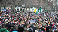 "<span style=""font-size: small;"">ANN ARBOR, Mich. (AP) — Thousands attended an annual rally on the University of Michigan campus aimed at celebrating marijuana and arguing for its legalization.</span>"