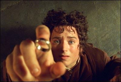 "Elijah Wood stars as Frodo Baggins in the first installment of the ""Lord of The Rings"" trilogy, opening December 19, 2001."