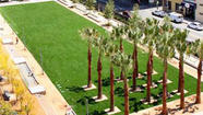 LAPD green: landscaping at the new police headquarters
