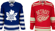 The 2014 Winter Classic between the Toronto Maple Leafs and Detroit Red Wings is set for Michigan Stadium on New Year's Day and is to feature players sporting retro jerseys.