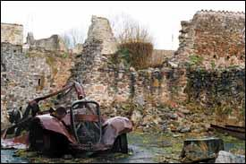 The ruins of Oradour