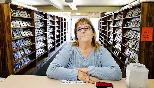 Kathryn Hartle, owner of Boonsboro Video, will be closing the store at South Potoamc Street in Boonsboro.