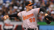 Right-hander <strong>Miguel Gonzalez</strong> probably delivered the sharpest outing during the first spin through the Orioles starting rotation, but he will not pitch in the three-game series against the Red Sox at Fenway Park. His regular turn would have come Tuesday, which is an off day after Boston's home opener Monday. So he'll be skipped initially and pitch at some point in the New York series next weekend.