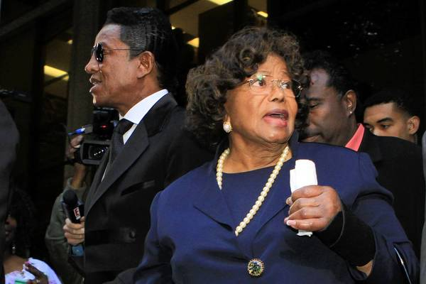 Katherine Jackson, the mother of Michael Jackson, is among those suing AEG.