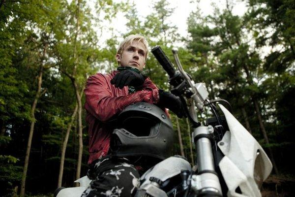"The red leather jacket Ryan Gosling wears in ""The Place Beyond the Pines"" was auctioned off for $4,100."