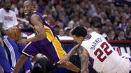 <strong>Clippers 109, Lakers 95 (end of regulation)</strong>