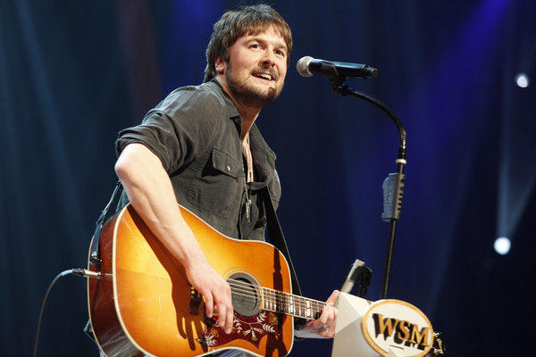 Country singer Eric Church had the most nominations, with seven, for the 48th Academy of Country Music Awards on April 7, 2013.