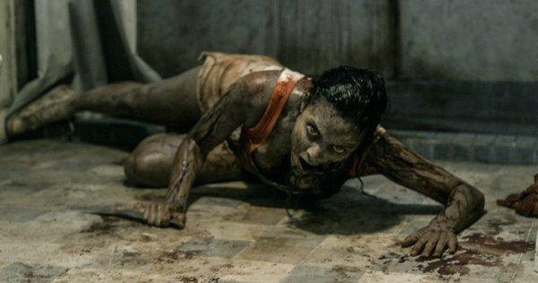 """Evil Dead"" clawed its way to the top of the box office."