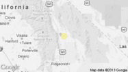 A shallow magnitude 3.1 earthquake was reported Sunday evening 18 miles from Lone Pine, according to the U.S. Geological Survey. The temblor occurred at 11:59 p.m. PDT at a depth of 0.6 miles.