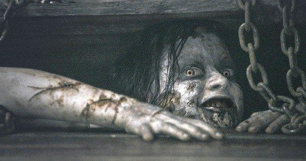 "Jane Levy in TriStar Pictures' horror movie ""Evil Dead."""