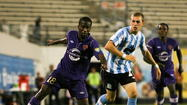 Kevin Molino was selected as the 2012 USL Pro league MVP last season.