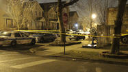 A gunman shot two 17-year-old boys as they walked down the sidewalk in the McKinley Park neighborhood shortly after midnight on Monday, police said.