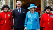 Margaret Thatcher and Prince Charles