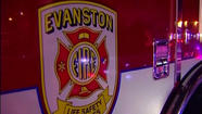 Evanston fire leaves man, 56, hospitalized