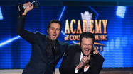 Luke Bryan and Blake Shelton helped bring the most viewers to the Academy of Country Music Awards Sunday night nationally and locally.
