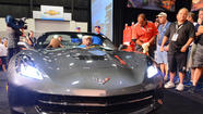 Corvette Stingray convertible sells for $1 million
