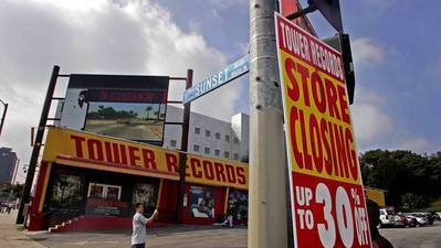 Tower Records not old enough for cultural designation