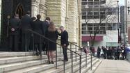 Raw video: Roger Ebert's casket leaving Holy Name Cathedral