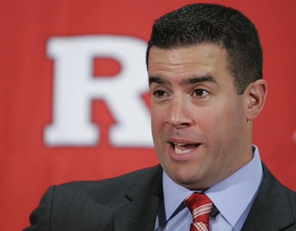 Former Rutgers athletic director Tim Pernetti, shown in 2009, still has a hefty paycheck coming his way after resigning last week.