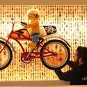 Legoland Hotel: people wall