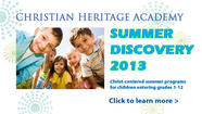 CHA is also offering a list of Summer Discovery programs, including Mandarin Chinese!