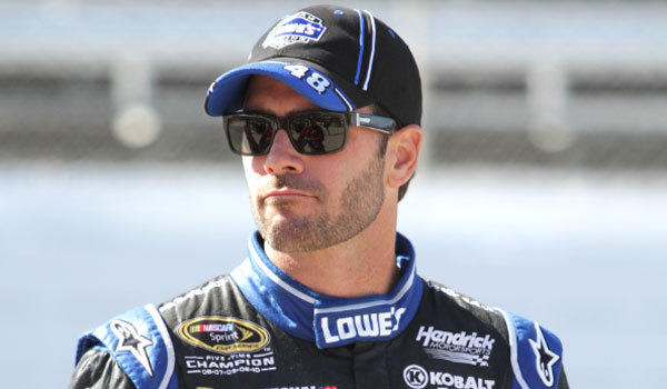 Jimmie Johnson tweeted some harsh words for his critics after his Sprint Cup Series win at Martinsville, Va., on Sunday.