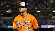-- Orioles first baseman Chris Davis was named American League Player of the Week on Monday following his history-making start to the season.