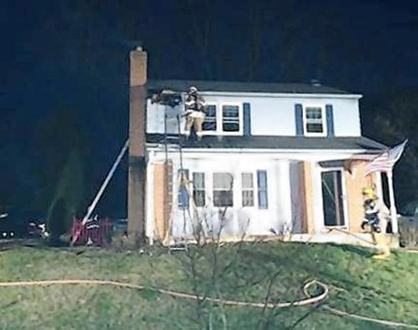 Investigators say quick thinking by a neighbor and the homeowner helped minimize a fire in the attic of a Bel Air home Sunday night.
