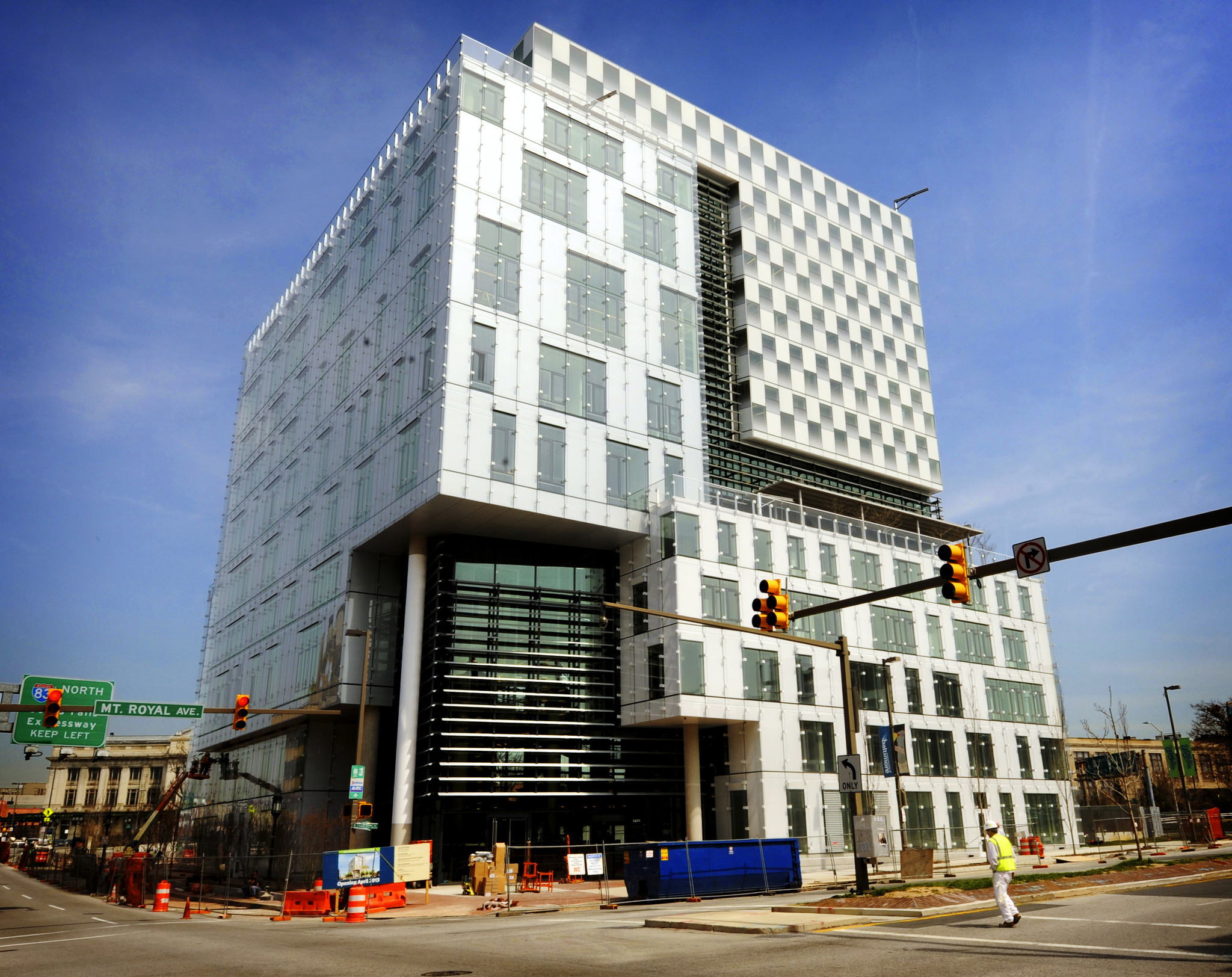 Angelos Law Center at University of Baltimore Video Baltimore Sun