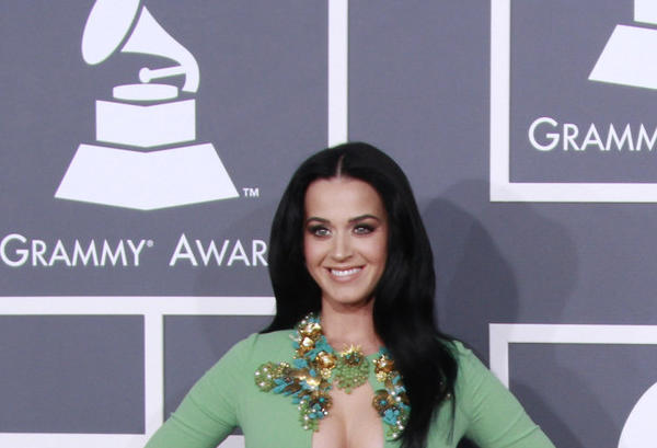 Katy Perry arrives for the 55th Annual Grammy Awards at Staples Center earlier this year.