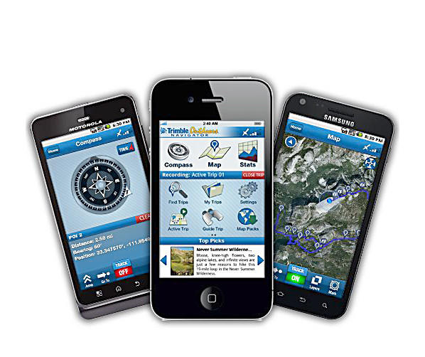 Trimble Outdoors, an Arizona-based technology company that's a leader in digital outdoor recreation, has enough maps to keep any outdoor enthusiast busy for days.