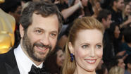 Producer Judd Apatow and his wife, Leslie Mann, have purchased a house in gated Malibu Colony. The asking price was $10.95 million.