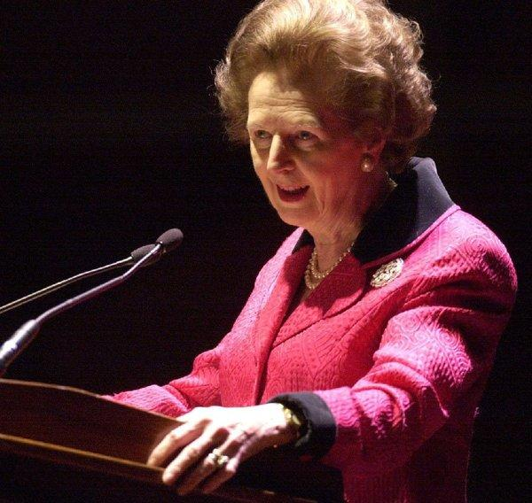 Former British Prime Minister Margaret Thatcher, who died Monday of a stroke, also suffered from dementia.
