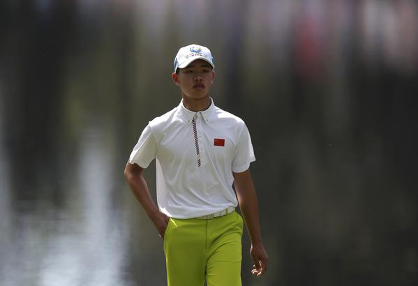 Guan Tianlang. (Reuters Photo)