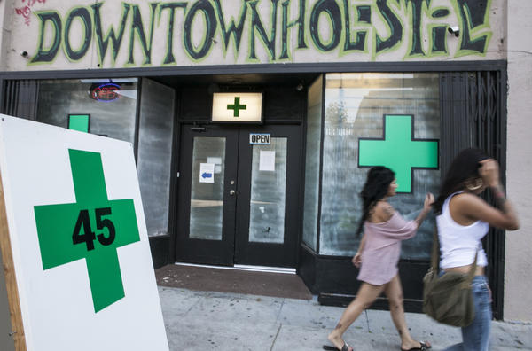 Three of the measures on the May 21 ballot deal with medical marijuana dispensaries.