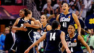 NEW ORLEANS — Every team has  ups and downs during a season. That's why journeys such as this are referred to as climbing the ladder of success. Not even the mighty Connecticut women's basketball program is immune to slipping once in a while.