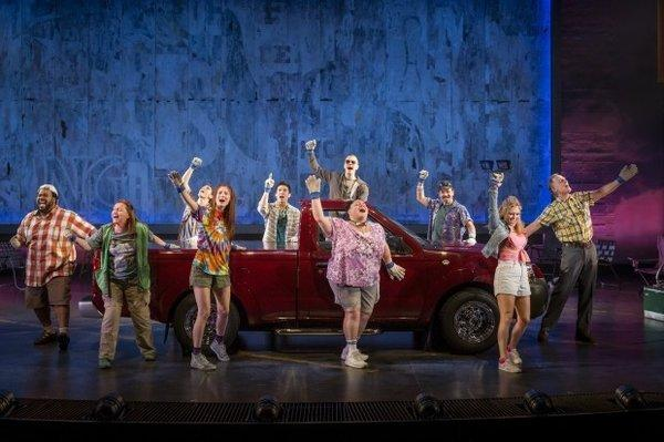 "The curtain will close early for the new Broadway musical ""Hands on a Hardbody."""