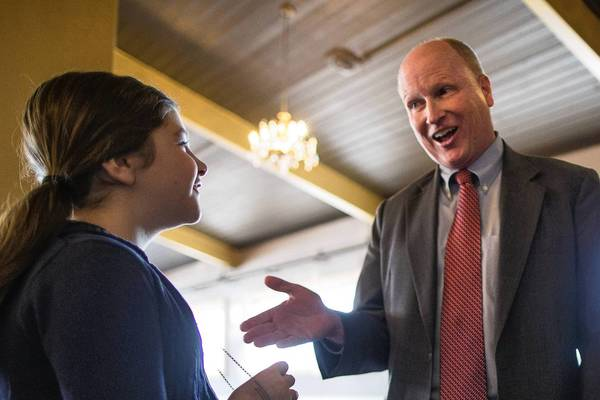 Massachusetts state Rep. Dan Winslow, a Republican candidate for a U.S. Senate seat, says he thinks gay couples should be able to make joint campaign contributions in the same way as other married couples.