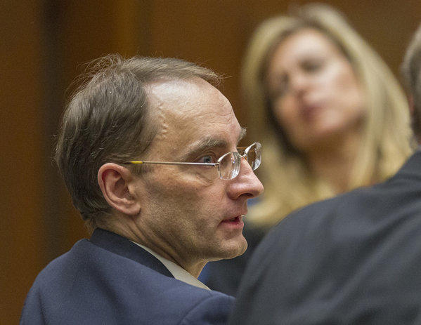 Christian Karl Gerhartsreiter listens Monday during final arguments in his trial.
