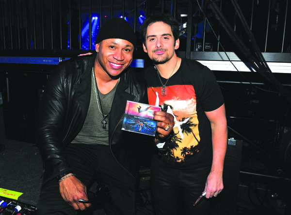 LL Cool J (left) and Brad Paisley