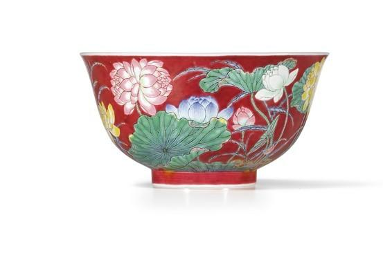 A Chinese bowl sold at auction for a record $9.5 million.