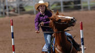 BRAWLEY — Jacque Hannon brought her daughter Ruby Robbins to compete in California's Junior Rodeo qualifier here over the weekend.