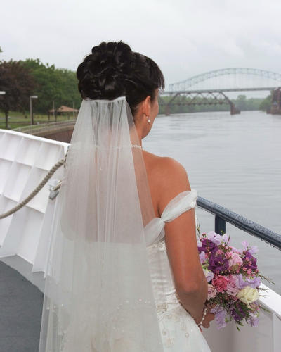 "Sail off into your future with a wedding and reception aboard a luxury yacht. Weddings can be scheduled from March through December and can accommodate up to 180 guest for a plated reception or 300 for a cocktail reception. Lady Katharine Cruises depart from Charter Oak Landing in Hartford, Haddam Neck or Harbor Park in Middletown. Information: 866-867-4837 or <a href=""http://www.ladykatecruises.com""target=new window"">www.ladykatecruises.com.</a>"
