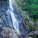 Aber Falls in Snowdonia National Park, Wales
