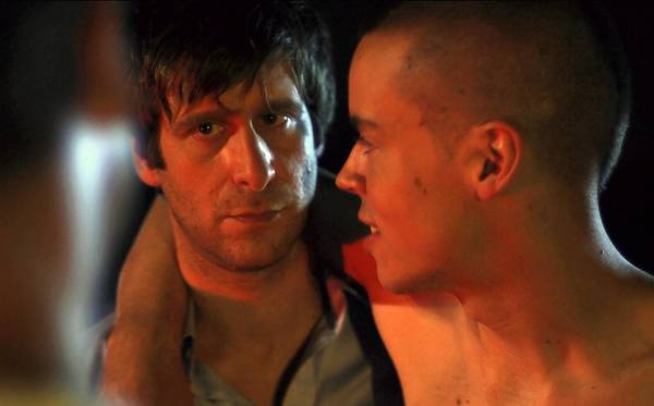 """Actors Lawrence Michael Levine, left, and Ryan Hendrickson are pictured in a still from Sacred Heart University Professor Damon Maulucci's film,""""Detonator,"""" screens at 8:15 p.m. at Sacred Heart In Fairfield as part of The New England Film and Music Festival."""